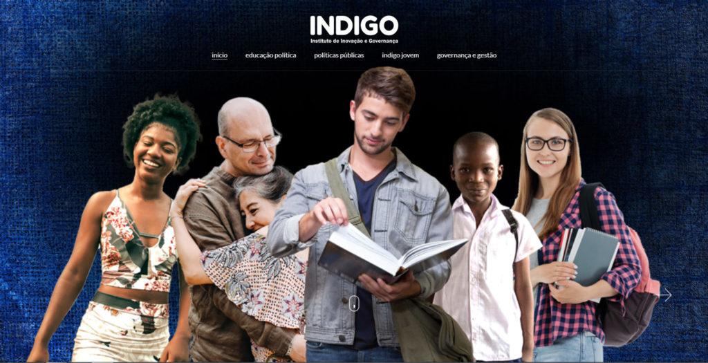 Fundação Indigo - website